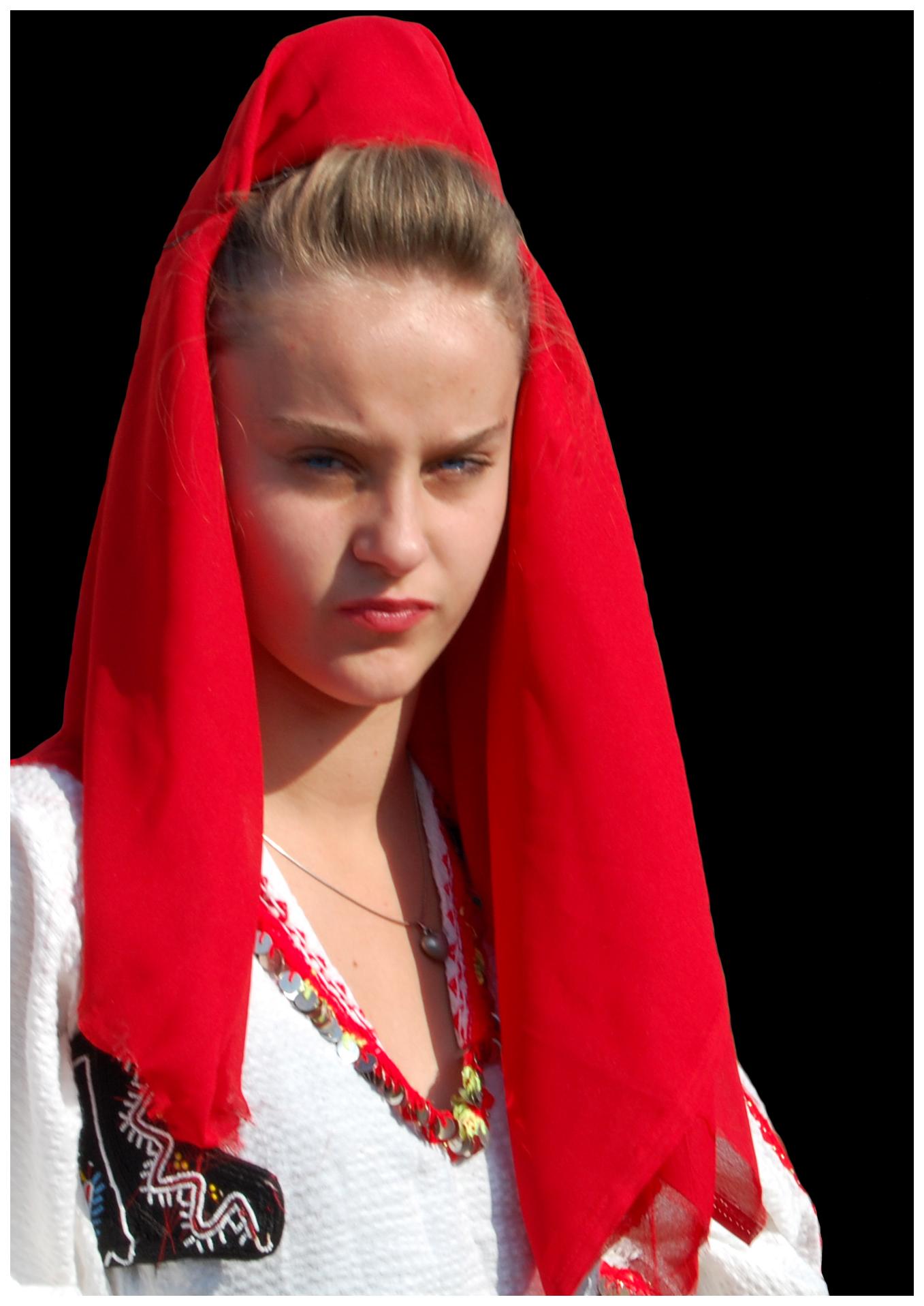 Femme albin de la simone